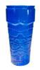 Tiki Glass Stackable 26 oz Blue