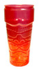 Tiki Glass Stackable 26 oz Red