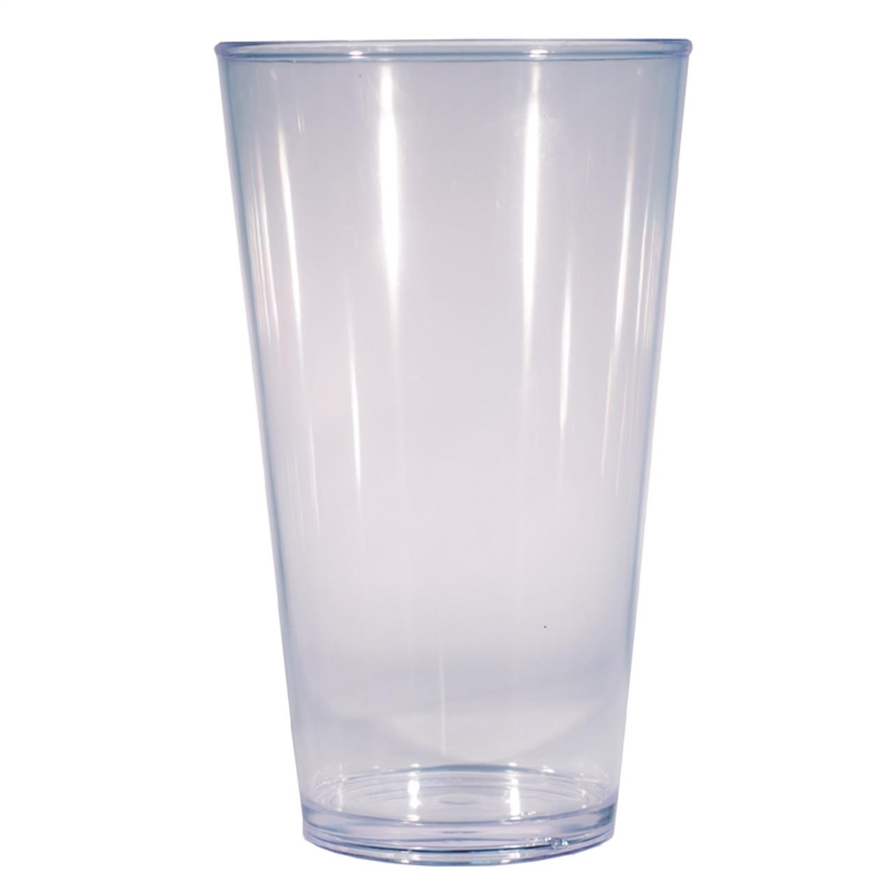 Plastic Pint Glass 16 Oz