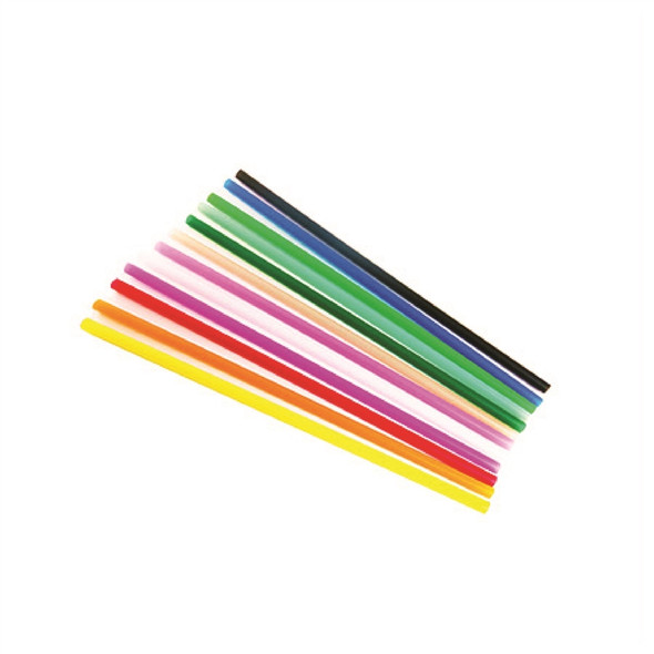 Neon Straws Assorted Colors