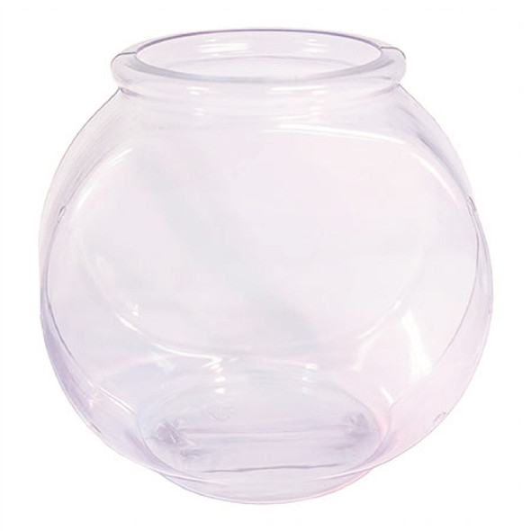 46 ounce plastic fish bowl