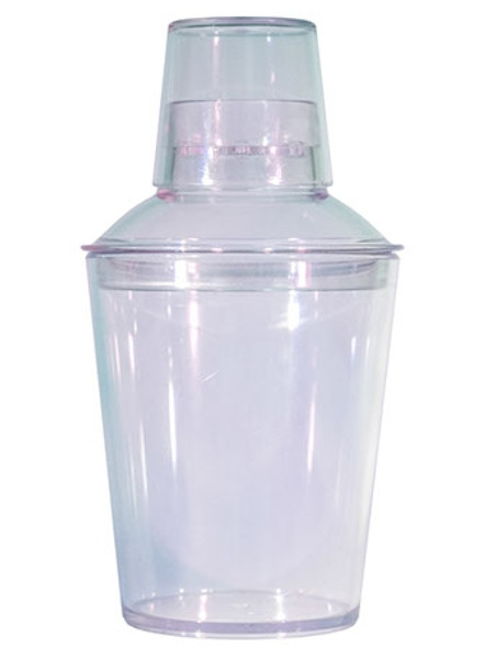 18 ounce clear cocktail shaker sets