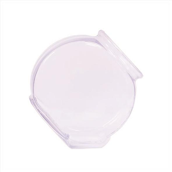 3 quart angled plastic drum bowl