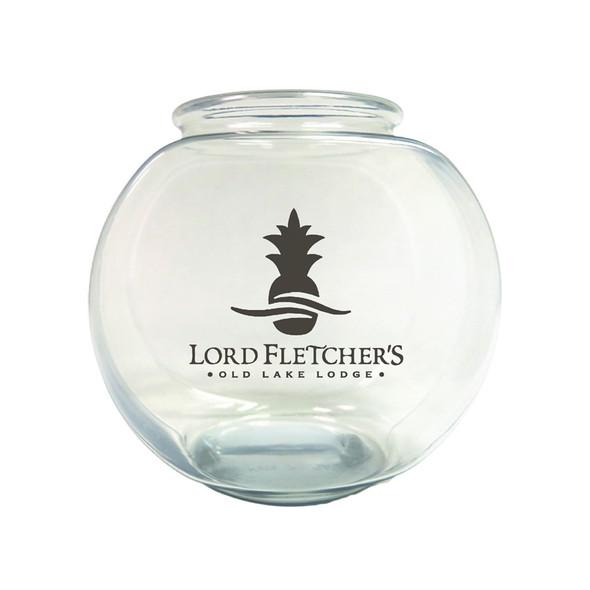 30 oz Cocktail Fishbowl with a Custom Print