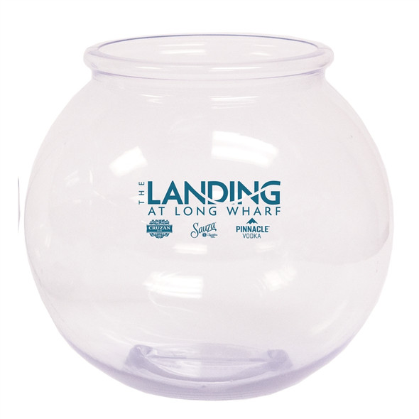 Round 1.1 Gallon Drink Bowl Custom Printed The Landing