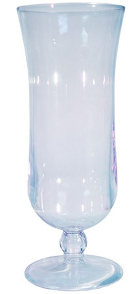 Styrene Hurricane Glass Blank 15 oz Clear