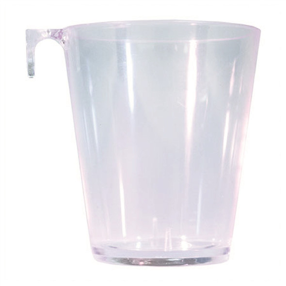 2 oz Clear Plastic Shot Glass With Hook
