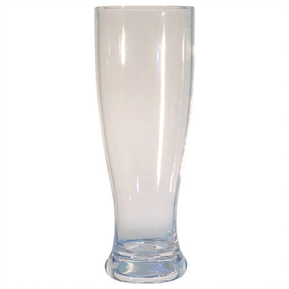 Plastic Pilsner Glass 22 oz Clear