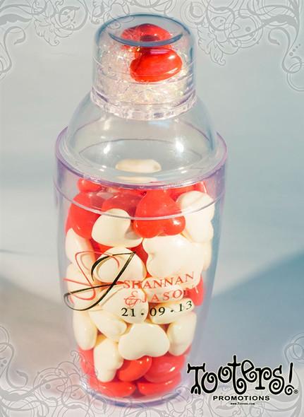 Personal Shaker Set Mini 6 oz Wedding Favor