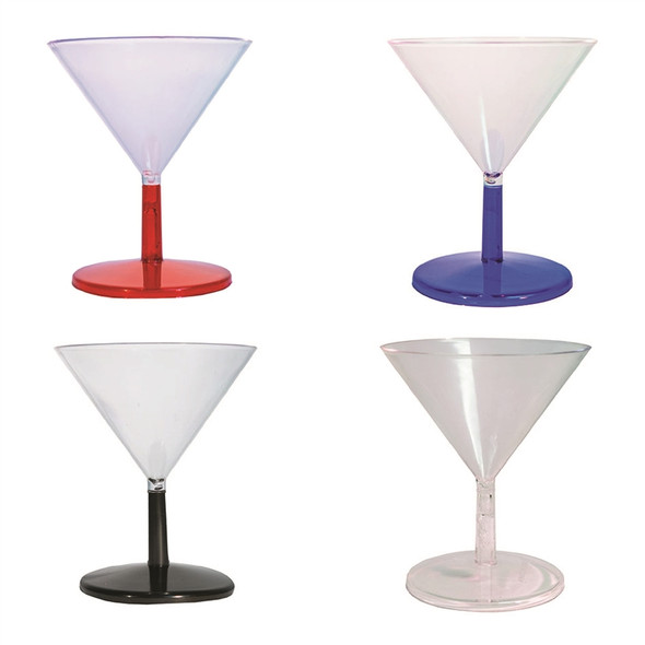 Plastic Mini Martini  Glass 2 oz
