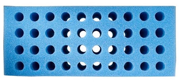 Blue 40 hole Foam Tooter Rack