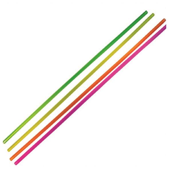 "20"" neon jumbo straws"