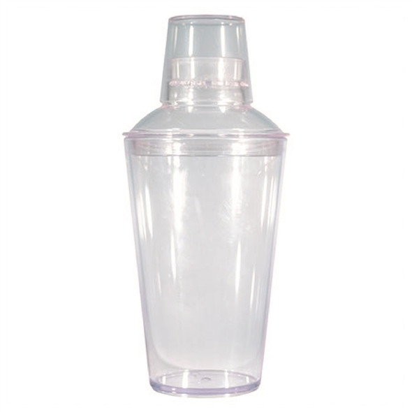 Blank 22oz Clear Cocktail Shaker Set