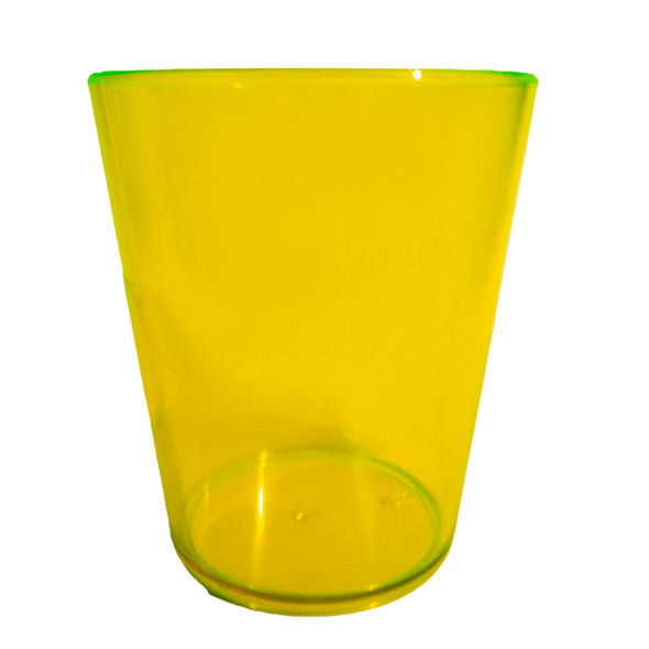 Neon Yellow 18oz Cup