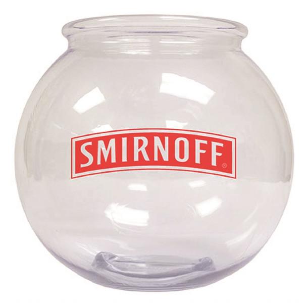 Plastic Round 3 Quart Drink Bowl Custom Printed
