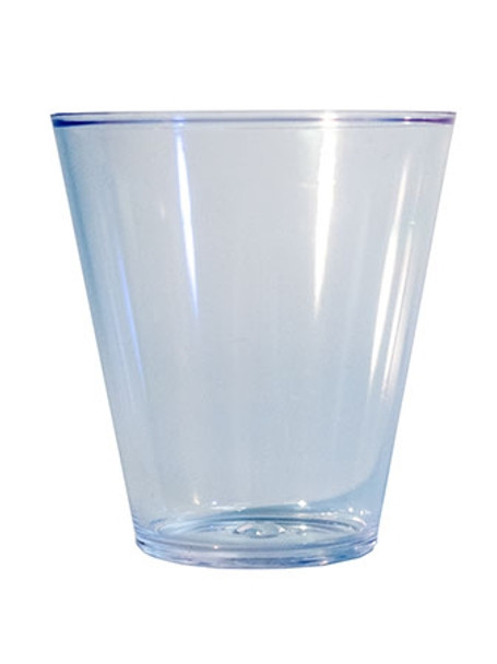 1.5oz Shot Glass Traditional Plastic Clear
