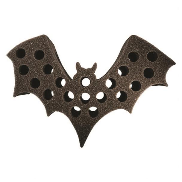 Bat shaped test tube shot rack