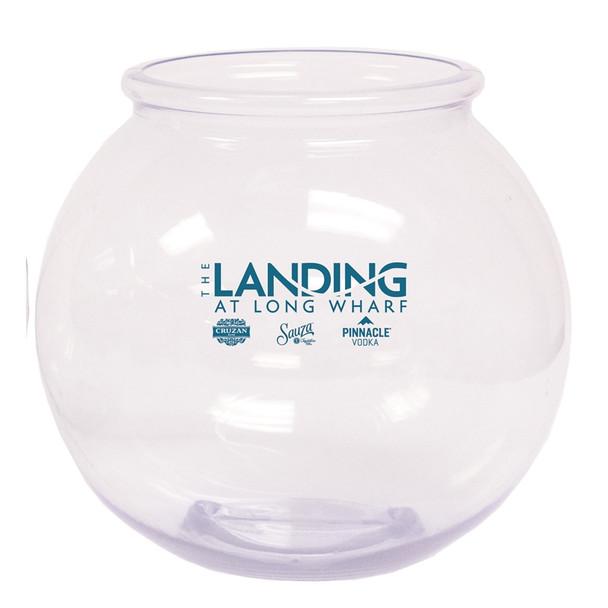 Round 1.1 Gallon Drink Bowl Custom Printed The Landing