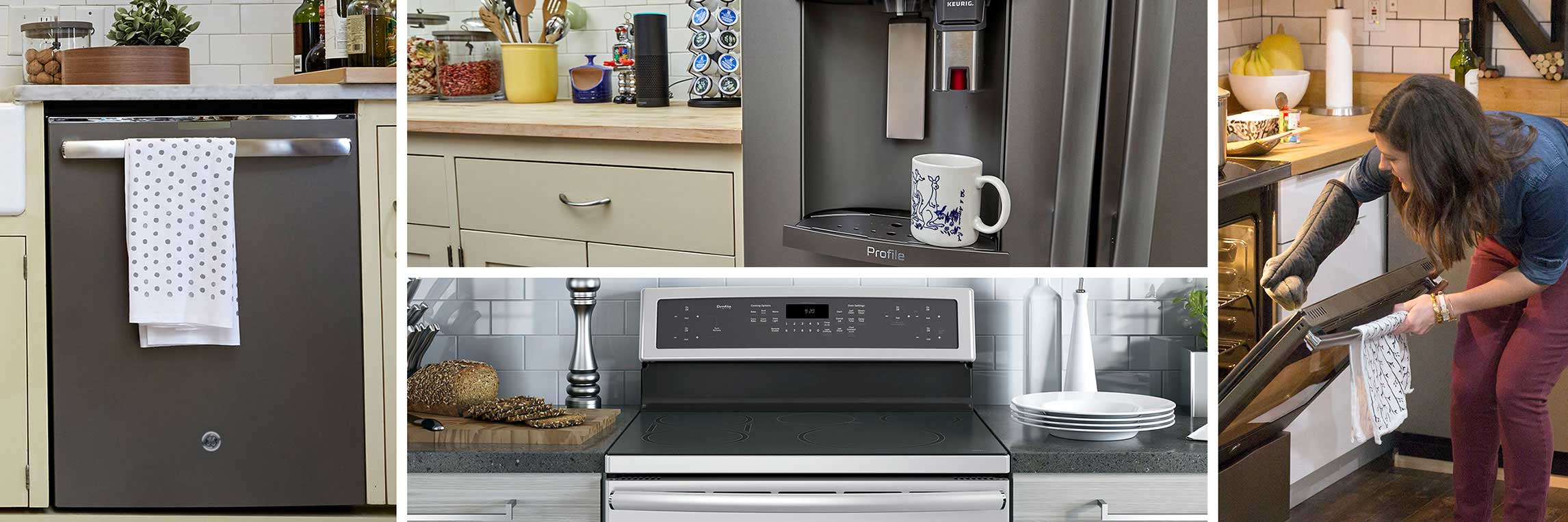 Collage of GE Appliances