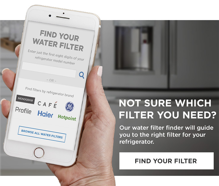 Not sure which filter you need? - Find Your Water Filter