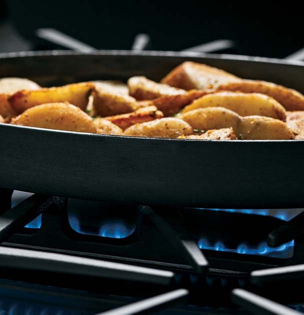 Oval Cookware is No Problem