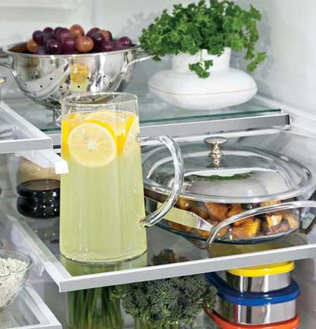 Refrigerator Shelf Space