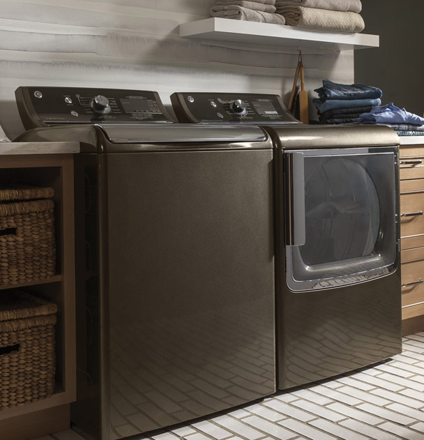 GE high-efficiency top load washer