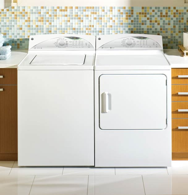 GE top loading washer