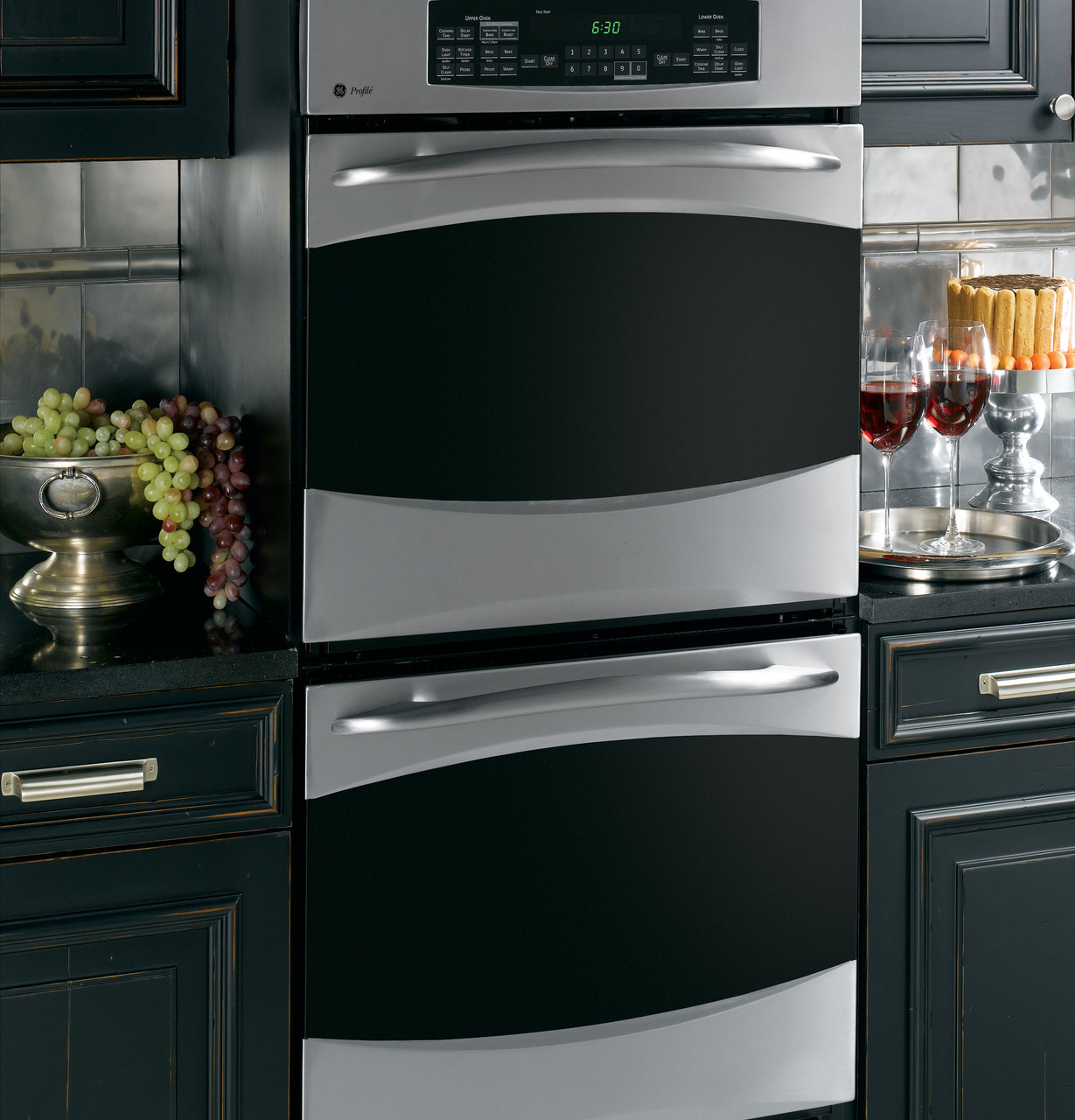 """GE Profile™ 27"""" Built-In Convection/Thermal Wall Oven ..."""