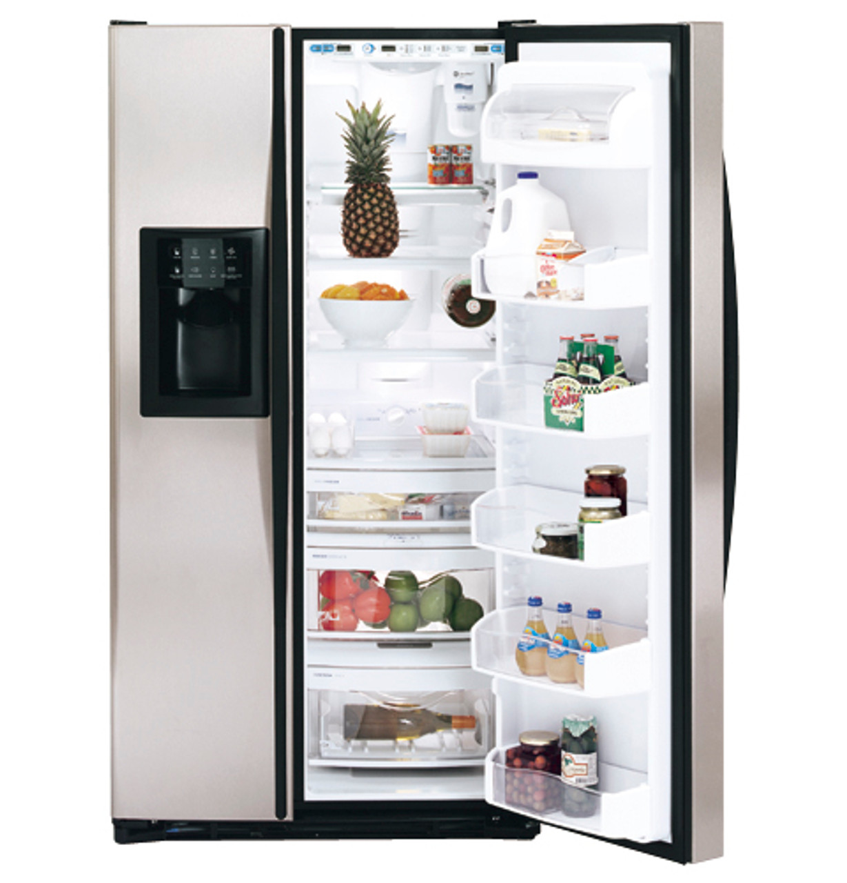 GE Profile Arctica™ 26.6 Cu. Ft. Stainless Side-By-Side Refrigerator -  PSS27SGNBS - GE Appliances | Ge Profile Arctica Wiring Diagram |  | GE Appliances