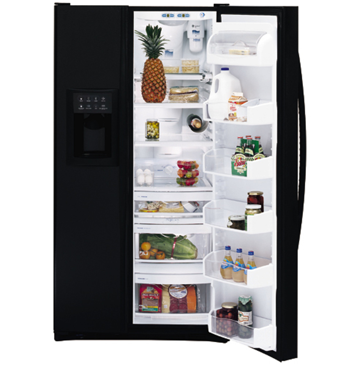 GE Profile Arctica™ 25.4 Cu. Ft. Side-By-Side Refrigerator - PSS25MGMBB - GE  Appliances | Ge Profile Arctica Wiring Diagram |  | GE Appliances