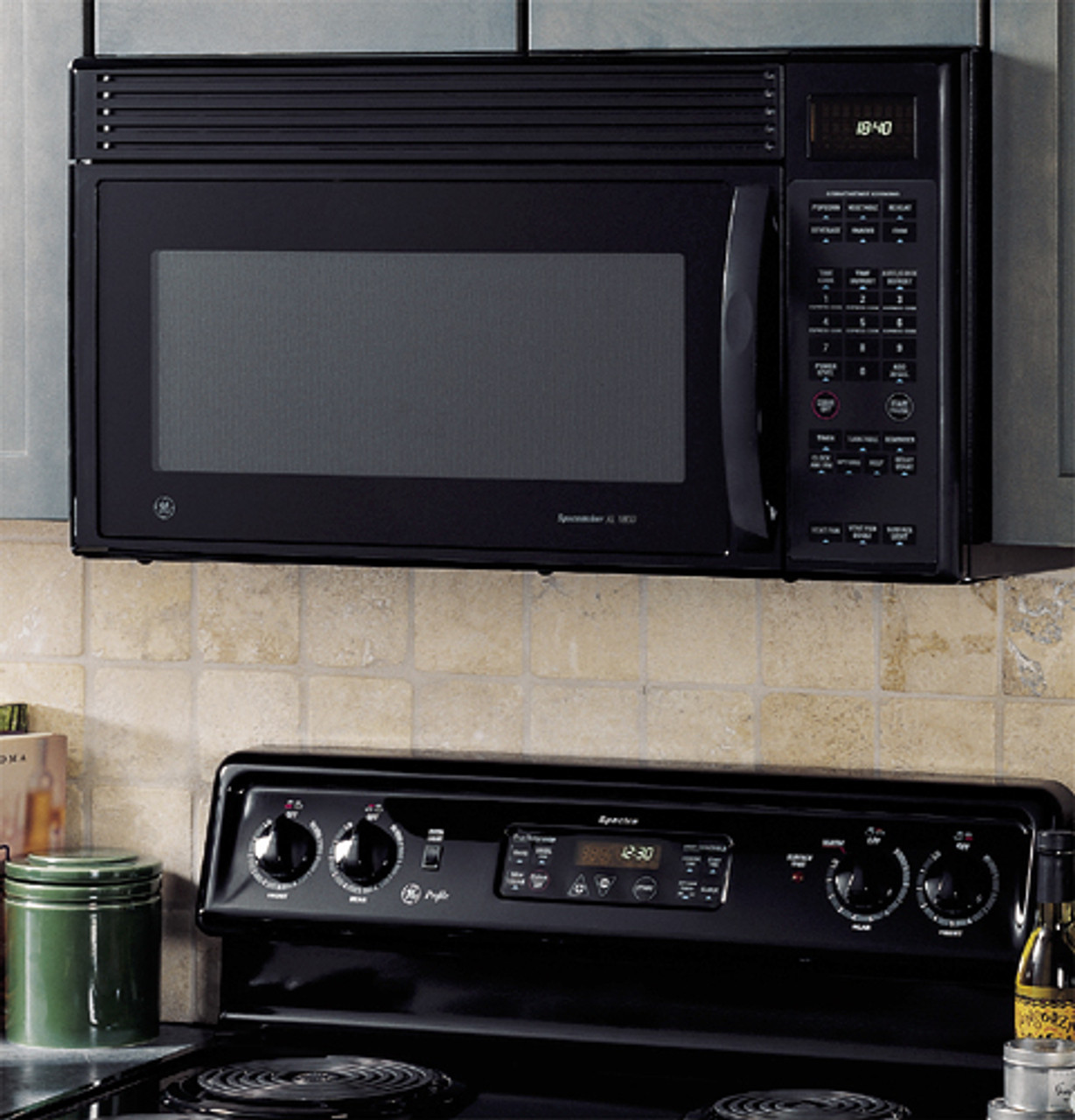 ge spacemaker xl1800 microwave oven jvm1840bd