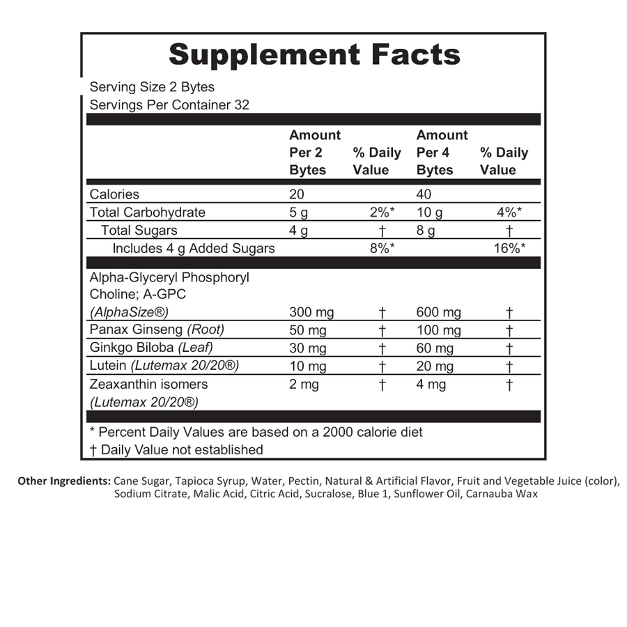 supplements offer functional formulas that boost alertness, energy, and focus—to unlock your true potential