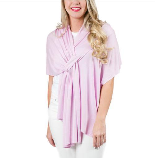 Top It Off Lightweight Wrap (Pink))