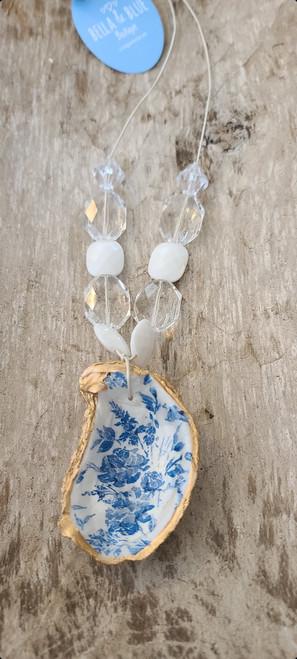 Carolina Coastal Oyster Shell Necklace 3
