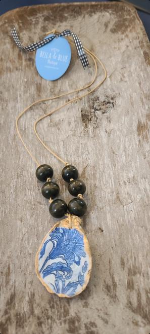 Carolina Coastal Oyster Shell Necklace 4