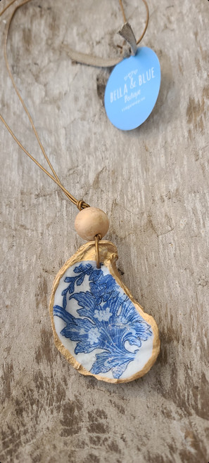 Carolina Coastal Oyster Shell Necklace 12