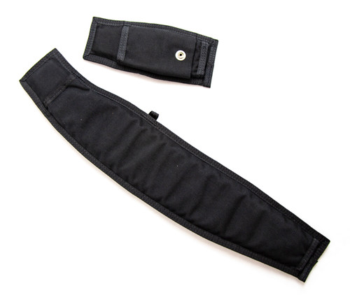 Two Piece Replacement Leg Pad - Black