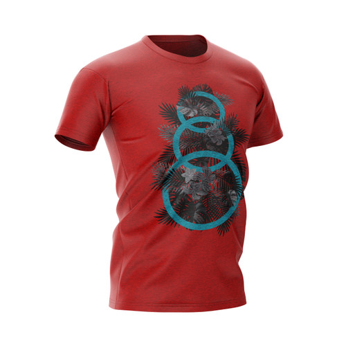 Tropical 3 Ring Dry Fit Athletic Shirt