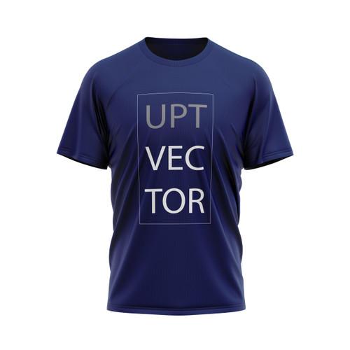 Block letter Vector tee