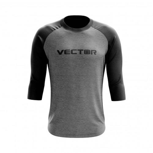 Vector raglan front
