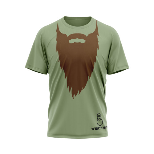 Bill Booth Beard Novelty Tee