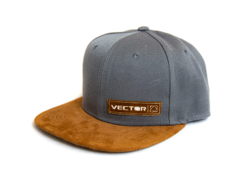 SUEDE BILL VECTOR HAT