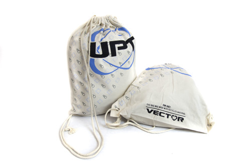 UPT RECYCLED DRAWSTRING BAGS