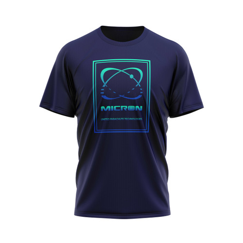 Gradient Micron Tee, Front