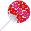 Uchiwa - Floral Red