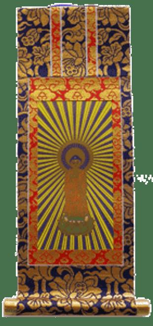Obutsudan Scroll of Amida Buddha (large)