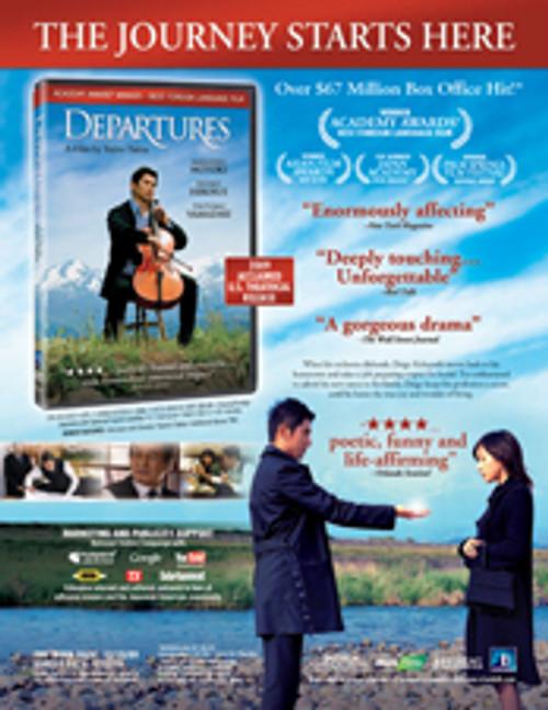 Departures (2008) - DVD