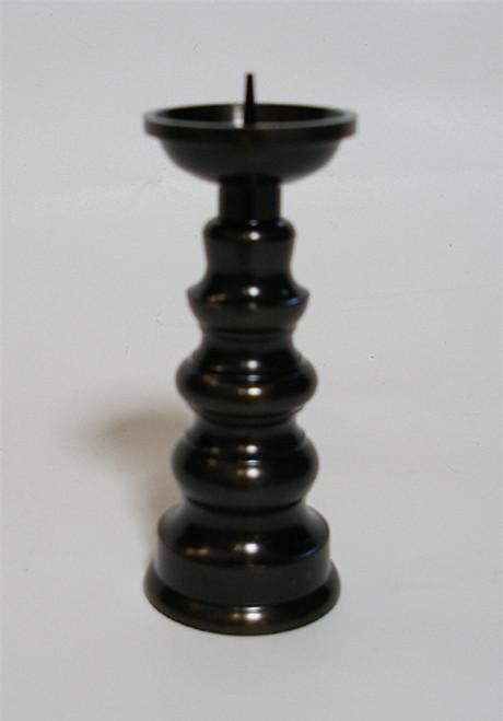 """Candle holder - Dark / 3.25""""H"""