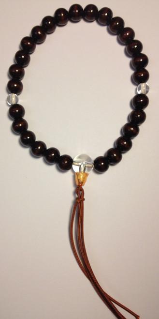 Men's Onenju - Dark Brown bead